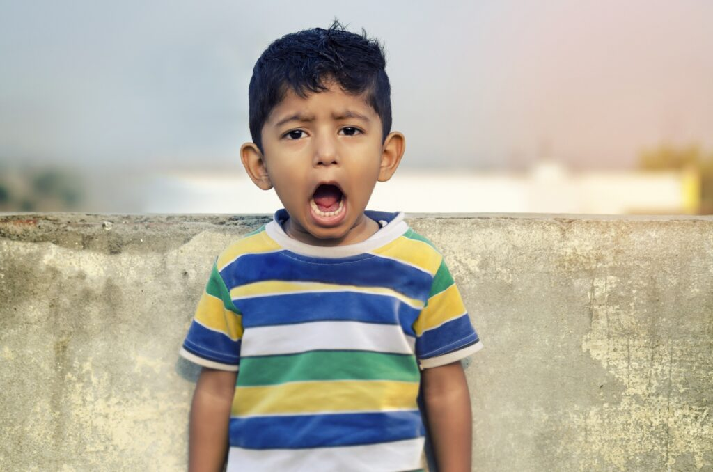 boy, child, shouting