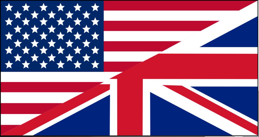 englih, flag, mixture