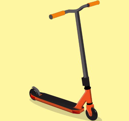 push scooter, scooter, vehicle