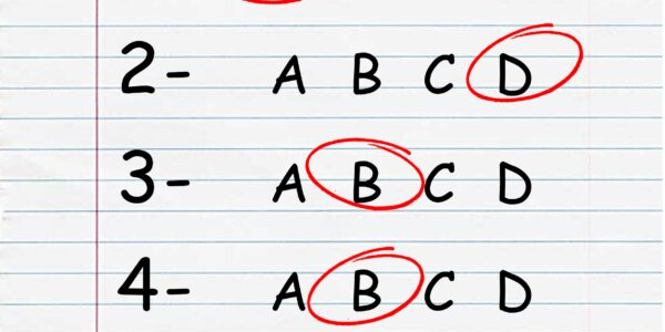 quiz, test, exam
